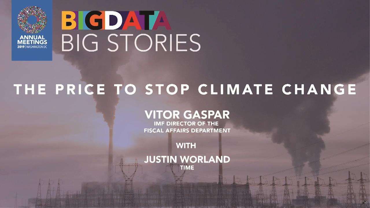 Big Data, Big Stories: The Price to Stop Climate Change