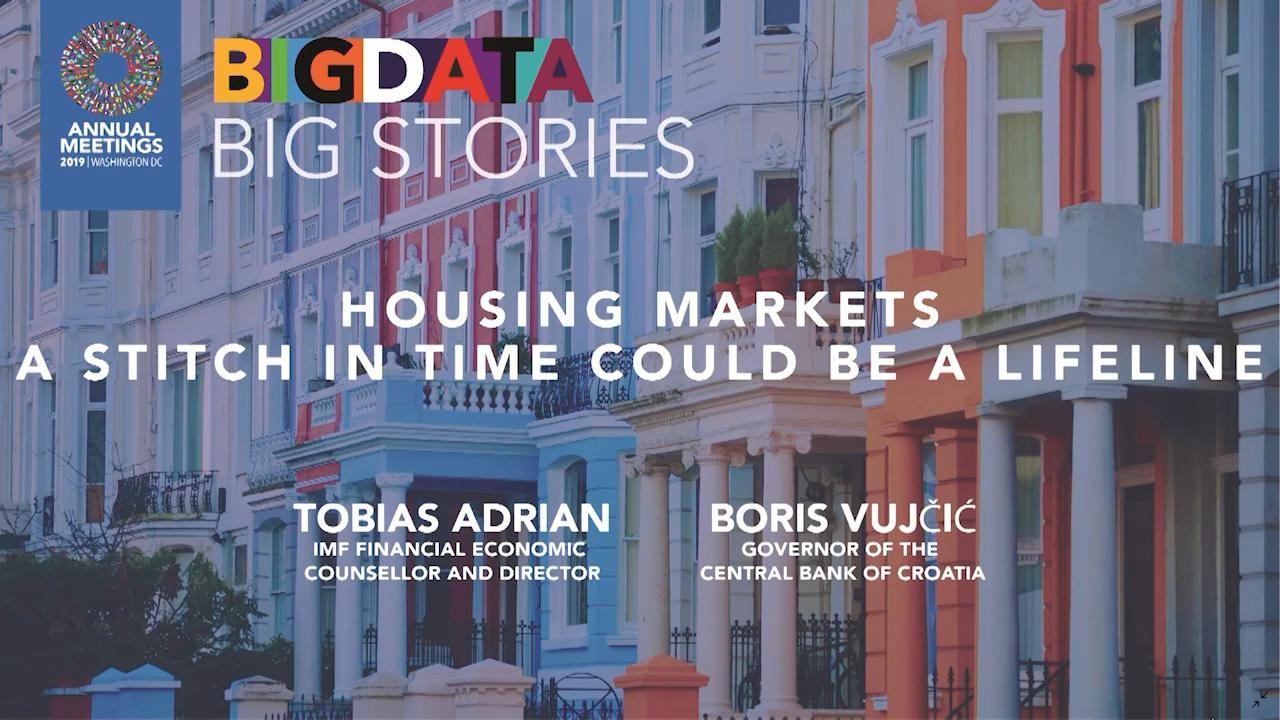 Big Data, Big Stories: Housing Markets—A Stich in Time Could be a Lifeline