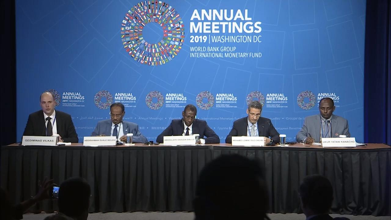 Spanish - African Finance Ministers Press Conference