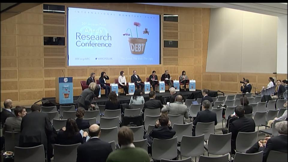 2019 IMF Annual Research Conference: Session 4 - Debt, Sustainability, and Economic Growth