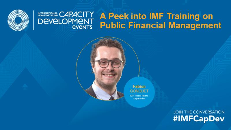 A Peek into IMF Training on Public Financial Management