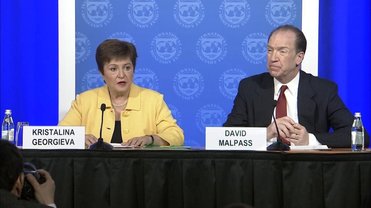 French - IMF and World Bank COVID-19 Press Briefing
