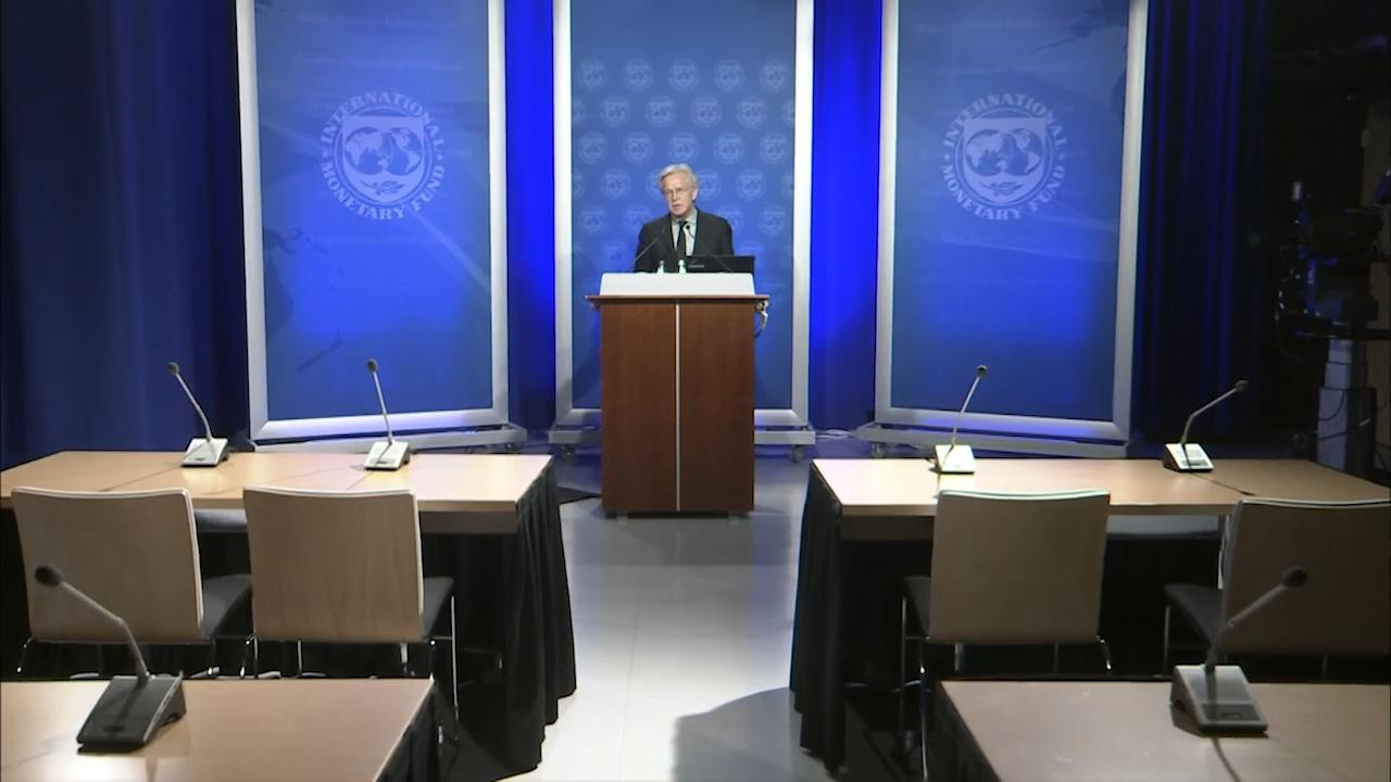 Press Briefing (Virtual) by Gerry Rice, Director, IMF Communications Department
