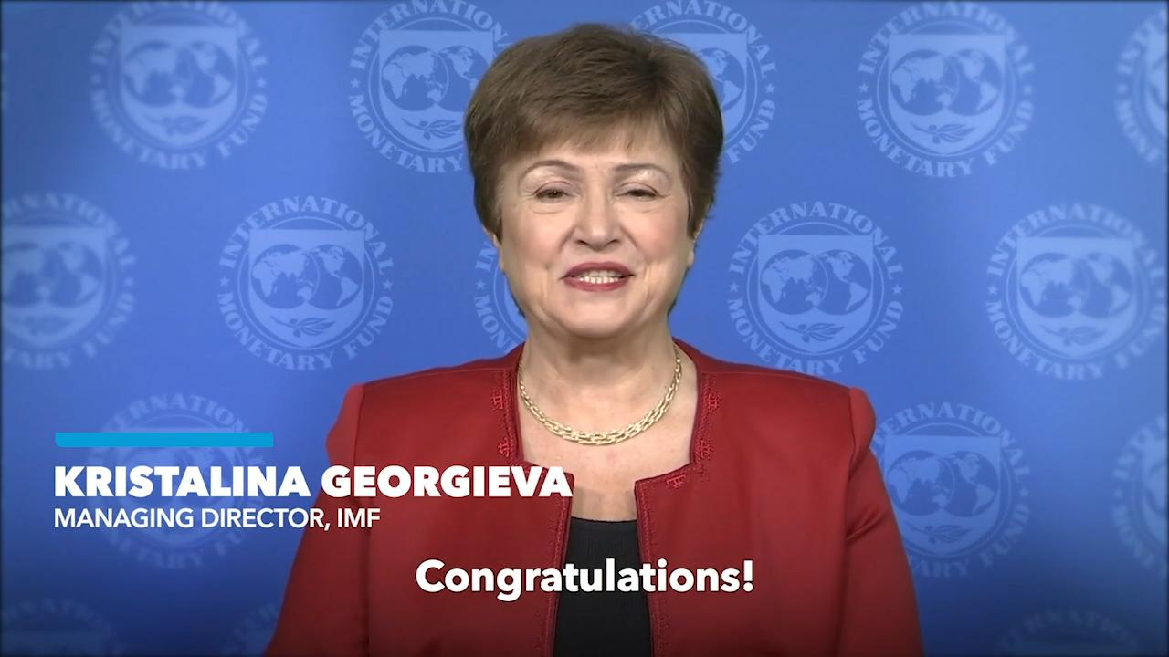 IMF Managing Director Kristalina Georgieva congratulates Somali people on this historic milestone!