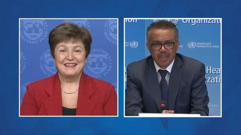 Opening Remarks by IMF Managing Director Kristalina Georgieva for Joint IMF/WHO Press Conference