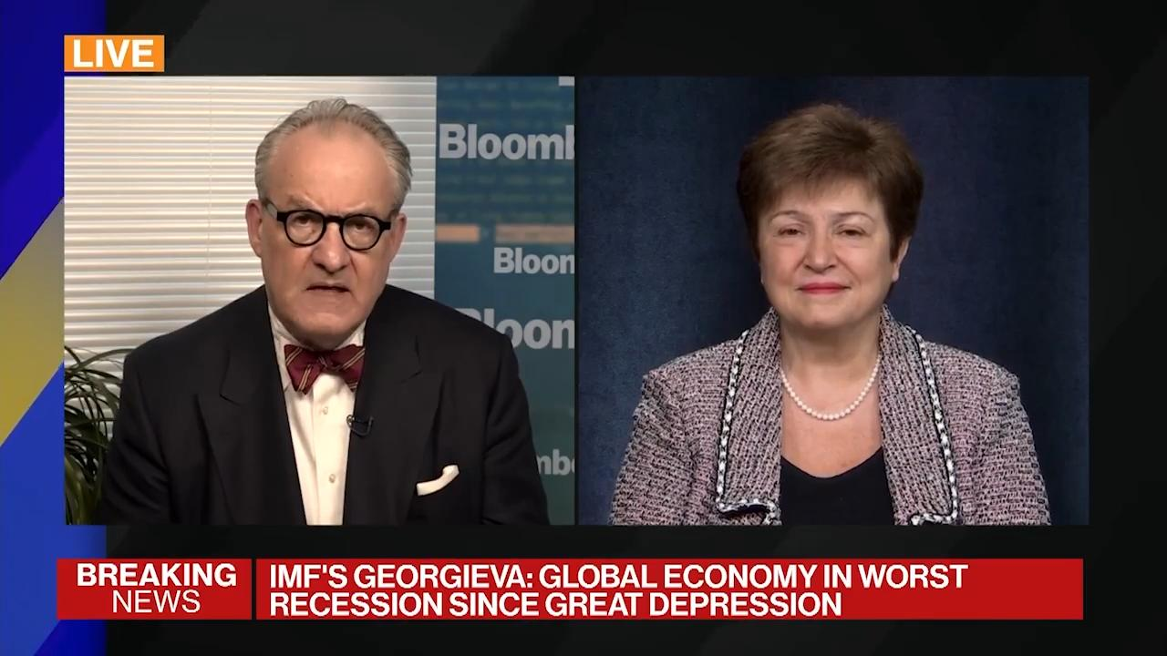 Bloomberg Live Conversation on the Outlook for the Global Economy and Policy Priorities to Overcome the COVID-19 Crisis