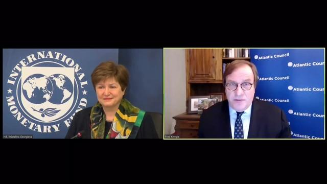 IMF Managing Director Kristalina Georgieva: A conversation on the global economic crisis