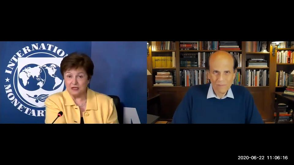 Milken Institute Conversation with IMF Managing Director Kristalina Georgieva