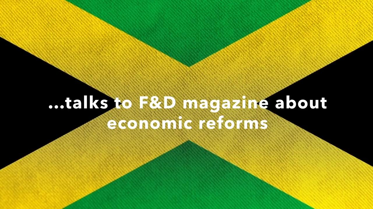Former Bank of Jamaica Governor Brain Wynter interviewed in the IMF's F&D Magazine – Fall 2020