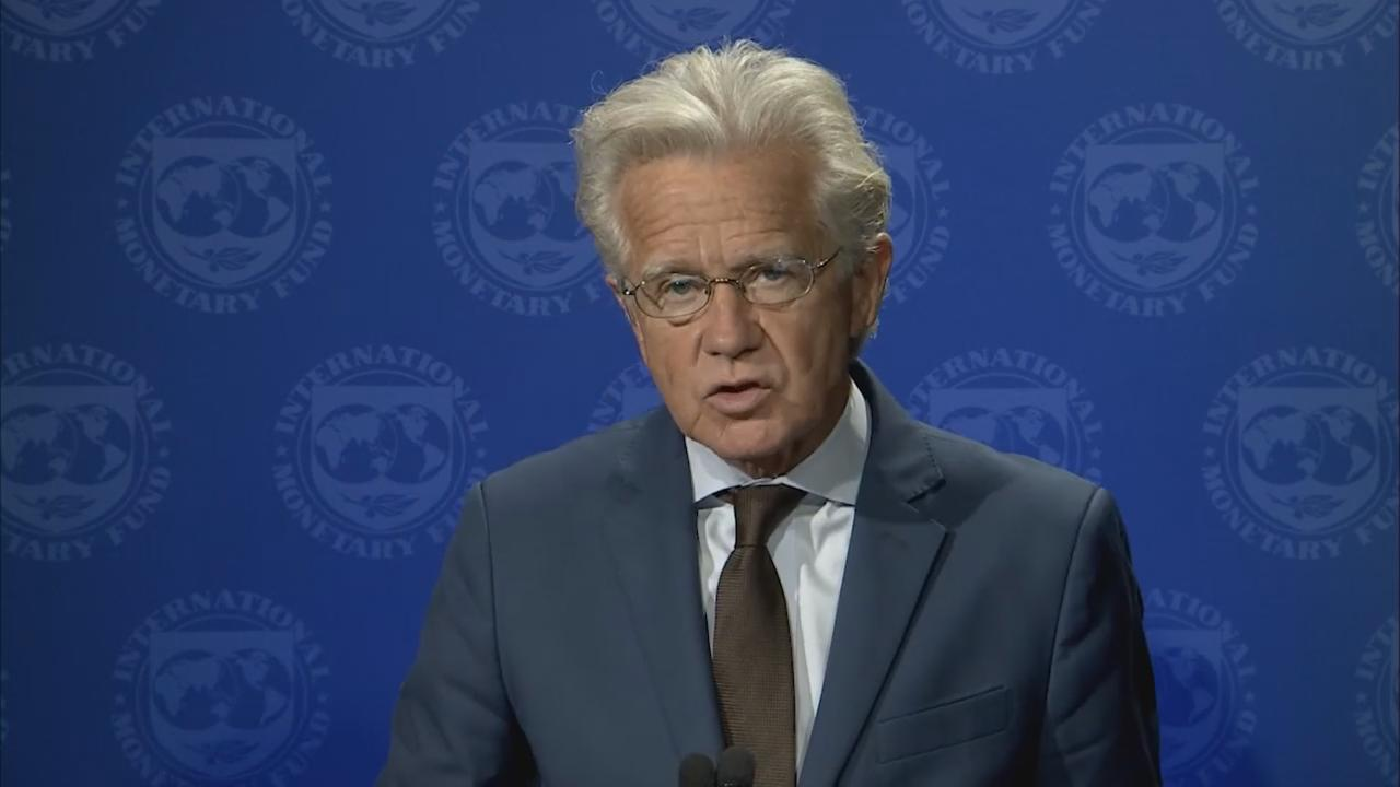 Press Briefing by Gerry Rice, Director, Communications Department, IMF