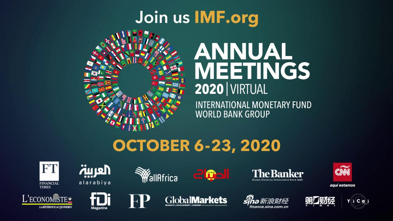 2020 IMF-World Bank Annual Meetings