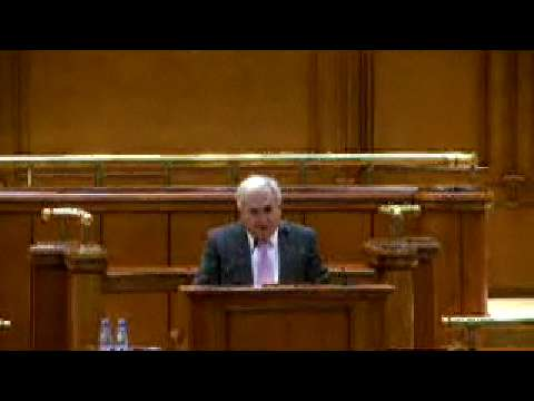 Address to the Romanian Parliament