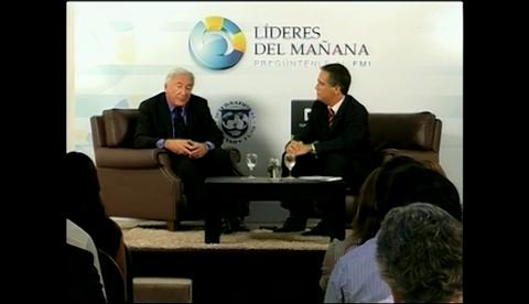 IMF Town Hall Meeting with Uruguayan Students