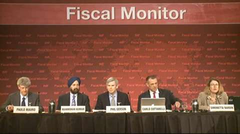Fiscal Monitor Press Briefing