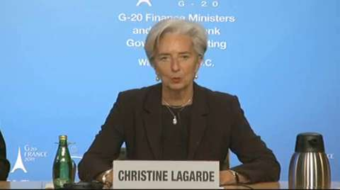 Press Briefing: G20 Chair French Finance Minister Christine Lagarde