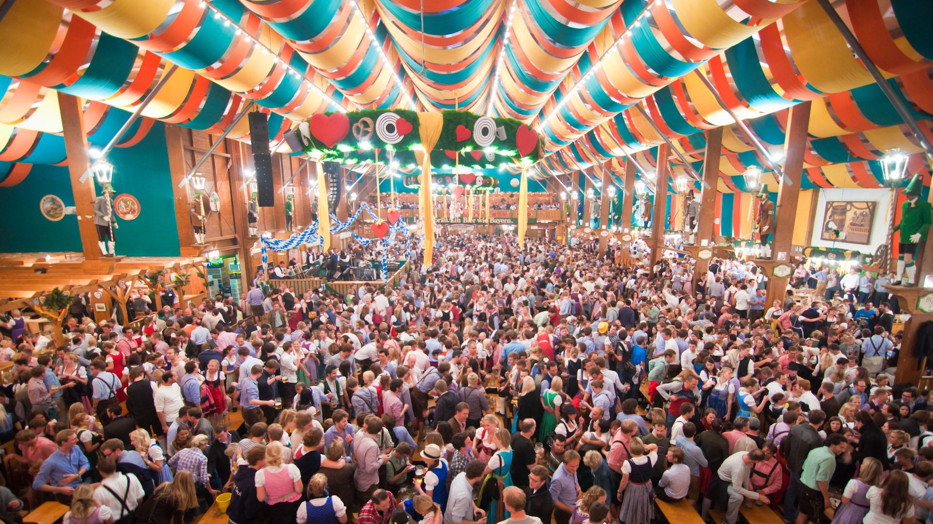 There's a simple new way to get a table in Oktoberfest's famous beer tents