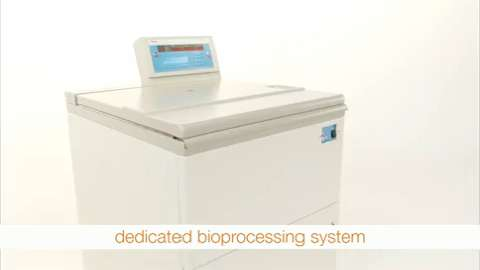 For exceptional productivity up to 15,860 xg, the Thermo Scientific Sorvall RC BIOS Centrifuge is a dedicated bioprocessing system - combining our reliable centrifuge with 6L Fiberlite rotor and Nalgene true 1L bottles.