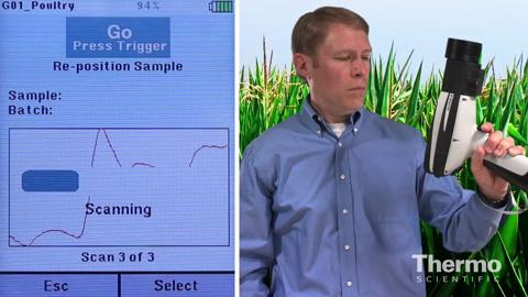 Thermo Scientific MicroPhazir AG Demonstration