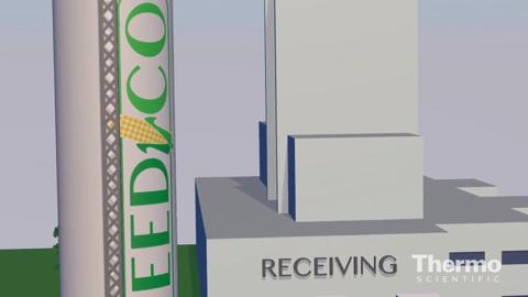 Thermo Scientific MicroPhazir AG Feed plant applications [3D environement only]