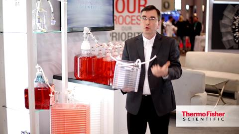 See how Thermo Scientific customized fluid transfer systems can simplify adherent cell culture production.