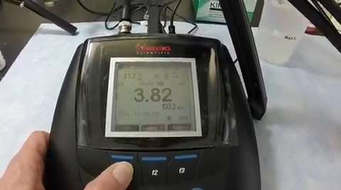This video tutorial shows the step-by-step instructions on how to calibrate an Orion pH electrode and an Orion Star A200 series benchtop meter.