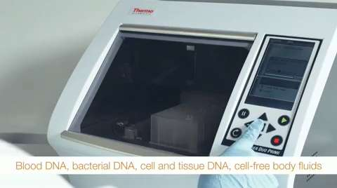Thermo Scientific KingFisher Duo Prime purification system provides convenient and reproducible DNA/RNA extraction and protein isolation.