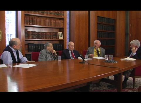 Interviews of Past President Panel 2008:  Anthony DeMaria, Joseph Eberly, Boris Stoicheff, Emil Wolf -  interviewed by Paul Kelley Part 4 of 4