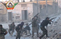 Chaotic FSA Firefight with Shabiha