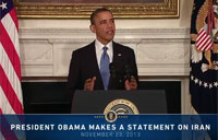 Pres. Obama Makes Statement on Iran