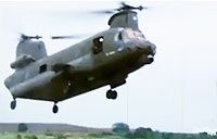 Chinook Takes Fire During Vietnam Rescue