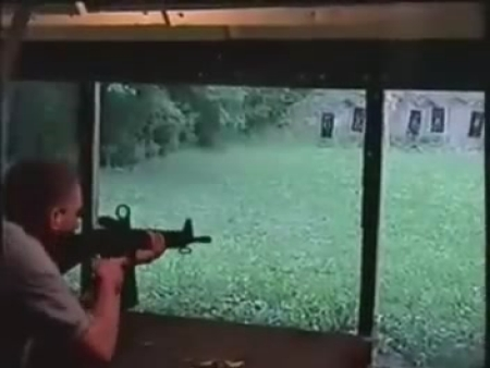 M16 Explodes in Guy's Face