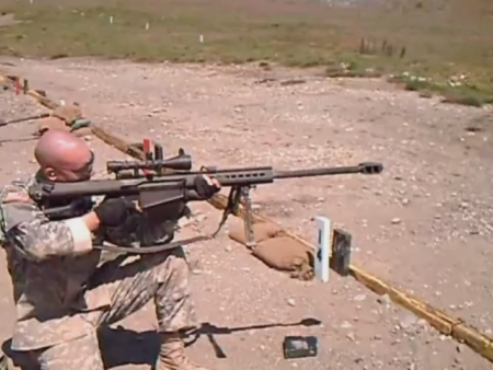 Firing Sniper Rifle while Kneeling