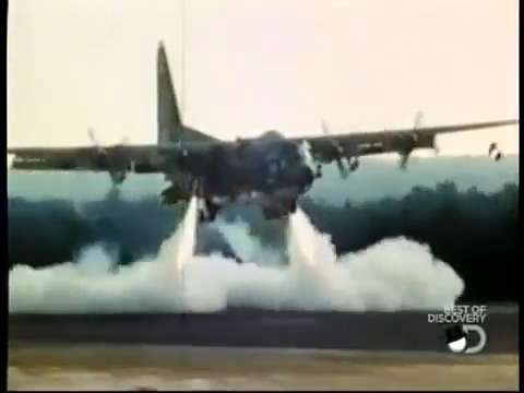 C 130 Military Transport Aircraft Top Secret C-130 with ...