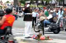 Marine Salutes Again at Rolling Thunder