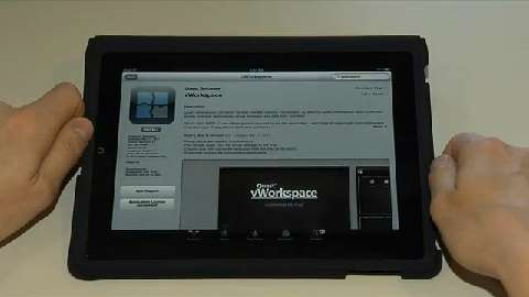vWorkspace iPad Connector