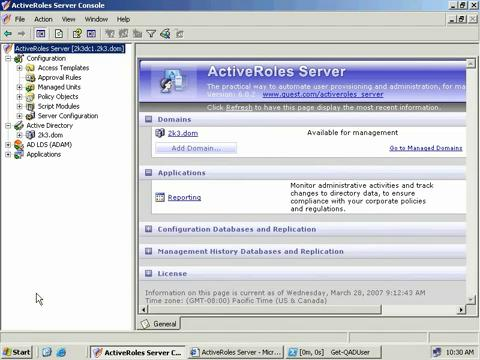 ActiveRoles Server Management Shell for Active Directory - Introduction