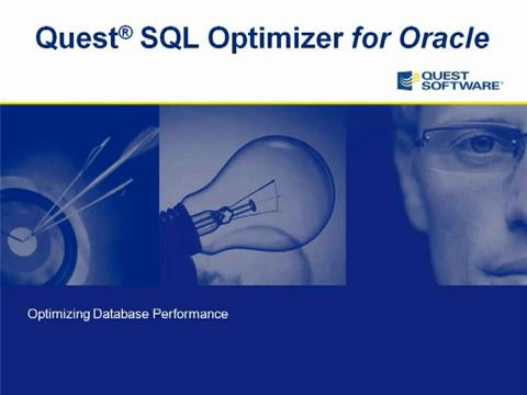 SQL Optimizer for Oracle - Introduction