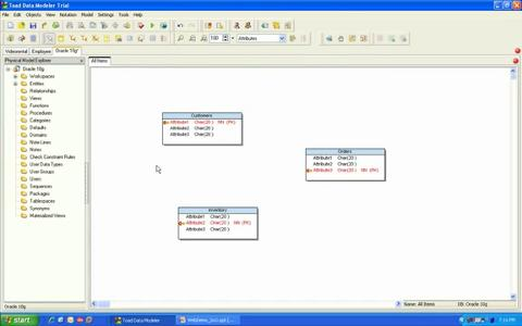 Toad Data Modeler - Basic Modeling