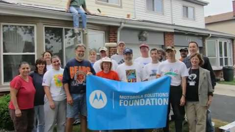 Motorola Solutions Foundation Provides Support in The Moments That Matter