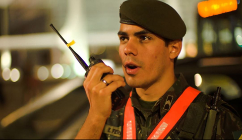 Brazilian Army Uses LTE and Radio Communications to  Keep Fans Safe