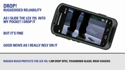 A Day in the Life of a Police Officer with the LEX755 Mission Critical Handheld