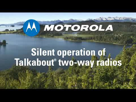 How-To Silently Operate your Talkabout Radio