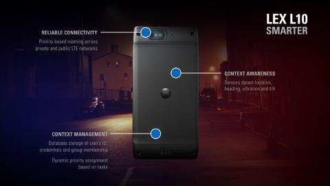 LEX L10 Mission Critical LTE Handheld and Public Safety Experience