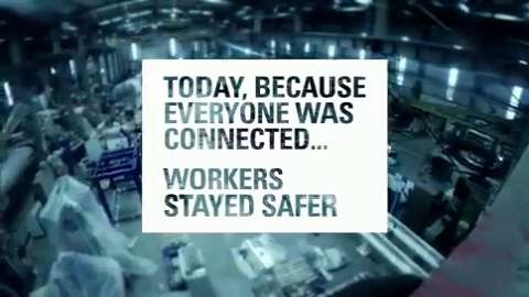 Today, Because Everyone Was Connected, Safety Was Improved.