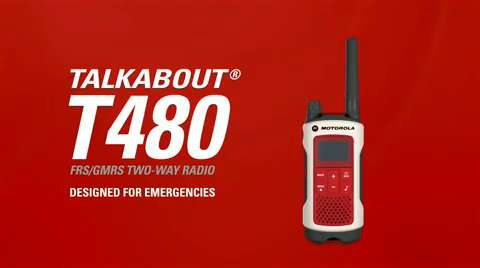 Talkabout T480 Two-Way Radio Video