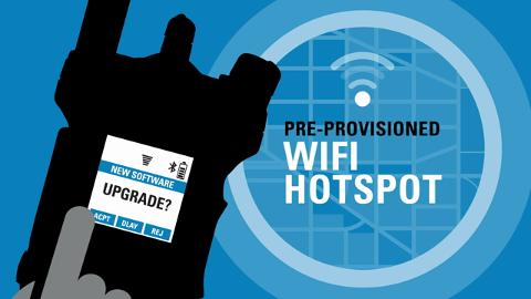 APX 8000 WiFi Feature