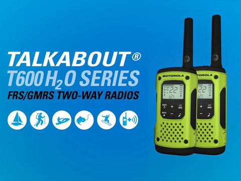 Meet the Powerful, Waterproof Talkabout T600 H2O Series of Two-way Radios