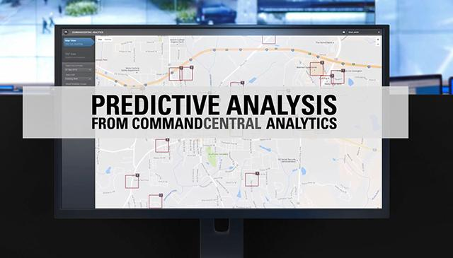 Predictive Analysis Demonstration - CommandCentral Analytics
