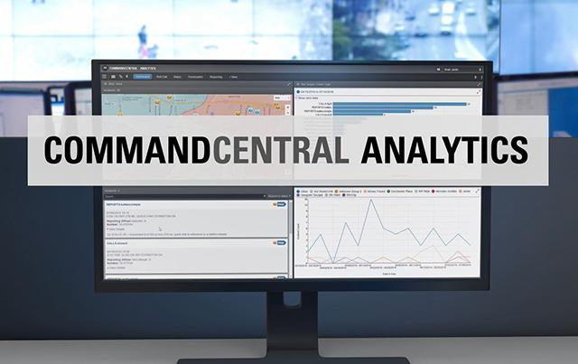 CommandCentral Analytics Demonstration