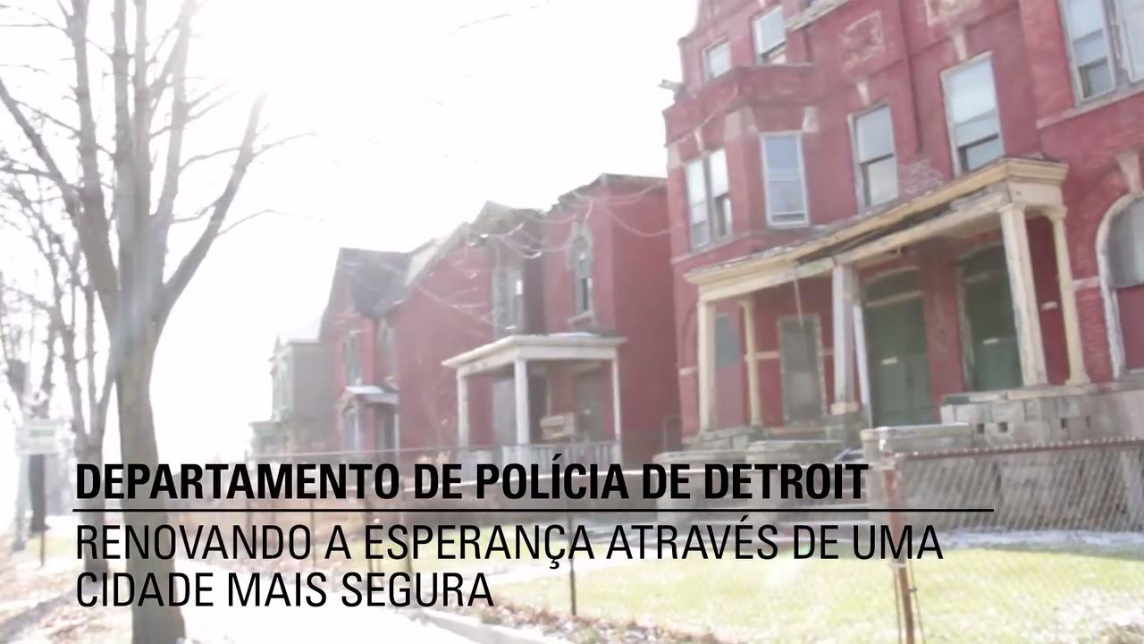 O Departamento de Polícia de Detroit - CommandCentral Aware